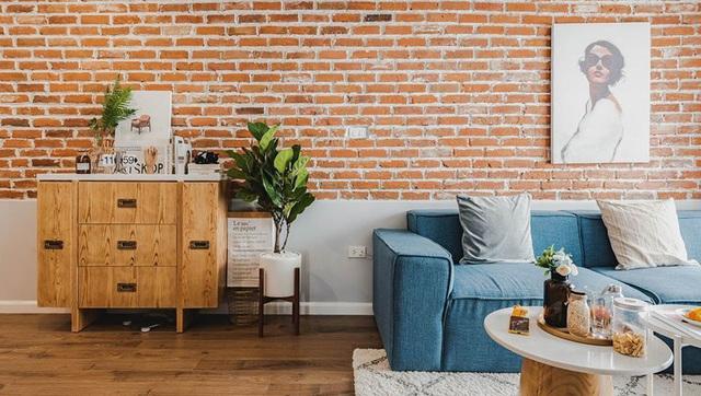 Ấn tượng căn hộ được trang trí bằng gạch tự nhiên - Ảnh 10.