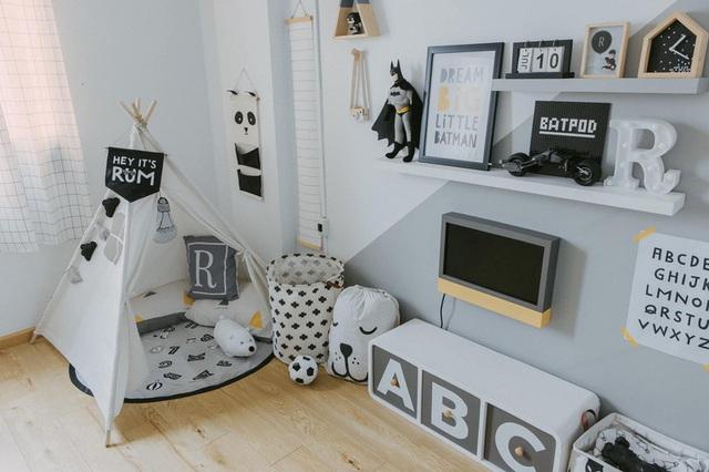 Thiết kế phòng cho con trai với nhiều món đồ trang trí cá tính - Ảnh 2.