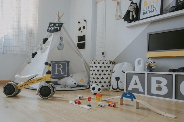Thiết kế phòng cho con trai với nhiều món đồ trang trí cá tính - Ảnh 7.