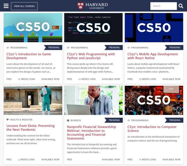Đại học Harvard cung cấp 64 khóa học trực tuyến giữa mùa dịch, quan trọng là tất cả đều MIỄN PHÍ: Cơ hội vàng cho những người ưa học hỏi! - Ảnh 1.