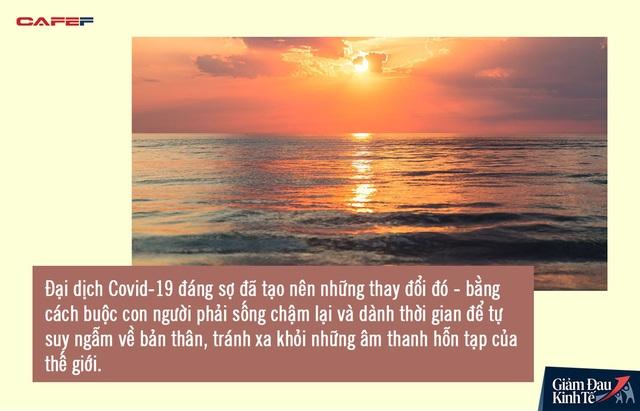 Đại dịch Covid-19 là lời mời gọi về quá khứ để tìm kiếm thứ ta đã đánh mất bấy lâu nay: Giá trị thực sự của cuộc đời là bình yên trong tâm hồn - Ảnh 1.