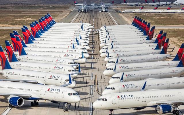 Hơn 16.000 máy bay nằm bẹp vì đại dịch Covid-19 - Ảnh 1.