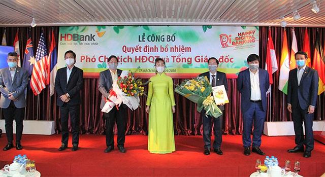 HDBank bổ nhiệm Phó chủ tịch Hội đồng quản trị và tân Tổng giám đốc - Ảnh 1.