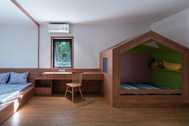 Ngôi nhà đơn giản, tiết kiệm chi phí xây dựng - Ảnh 12.