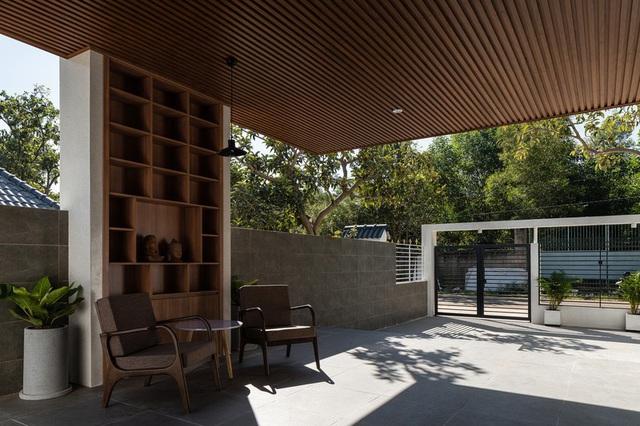 Ngôi nhà đơn giản, tiết kiệm chi phí xây dựng - Ảnh 5.