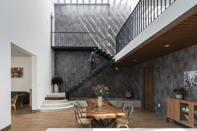 Ngôi nhà đơn giản, tiết kiệm chi phí xây dựng - Ảnh 8.