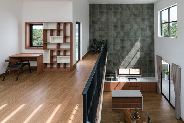 Ngôi nhà đơn giản, tiết kiệm chi phí xây dựng - Ảnh 10.