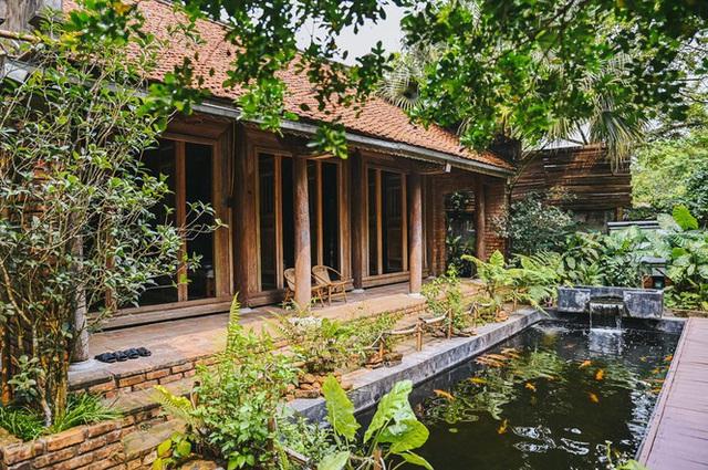 Mê mẩn khu nhà trên núi có ao đầy cá, vườn trĩu quả - Ảnh 6.