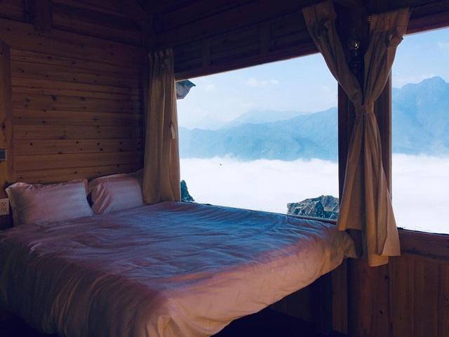Đẹp ngỡ ngàng ngôi nhà gỗ săn mây trên đỉnh núi ở SaPa - Ảnh 11.