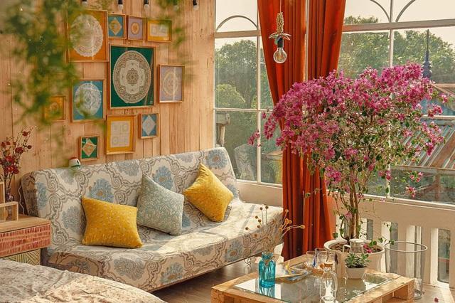 Cải tạo tầng thượng cũ kỹ thành không gian sống vintage lãng mạn - Ảnh 8.