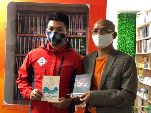 Cây ATM sách đầu tiên trên thế giới ra mắt tại Hà Nội: Tri thức sẽ giúp con người thoát nghèo bền vững - Ảnh 3.