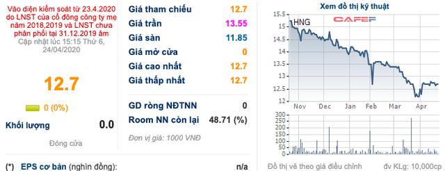 HAGL Agrico (HNG): Cổ phiếu được giao dịch toàn phiên trở lại từ ngày 27/4 mặc dù vẫn bị kiểm soát - Ảnh 1.