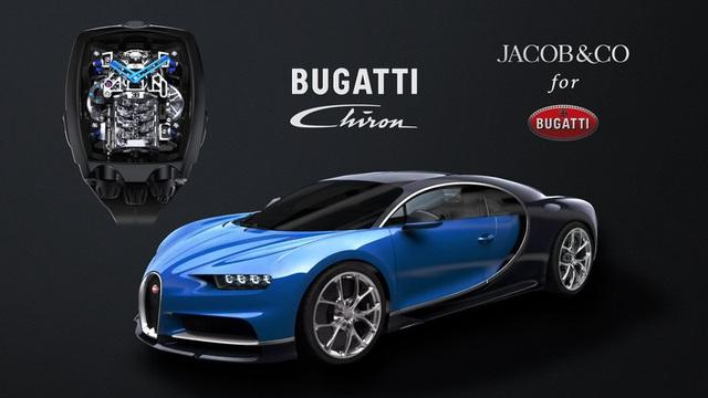 Đồng hồ Bugatti Chiron Tourbillon đặc biệt được trang bị động cơ nhỏ W16 - Ảnh 1.