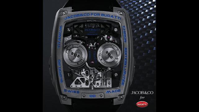Đồng hồ Bugatti Chiron Tourbillon đặc biệt được trang bị động cơ nhỏ W16 - Ảnh 3.