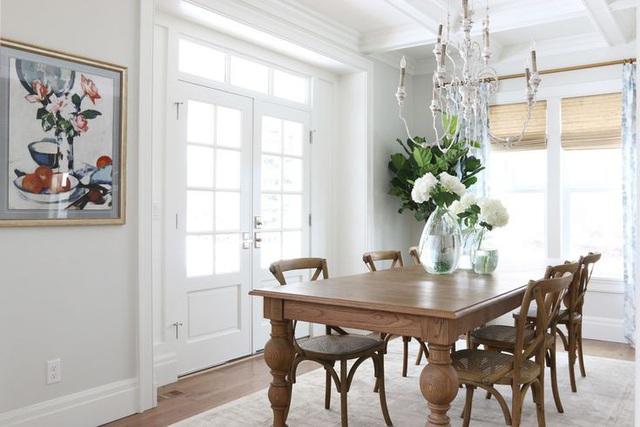 Những căn phòng đẹp sang trọng với sơn tường màu xám - Ảnh 7.