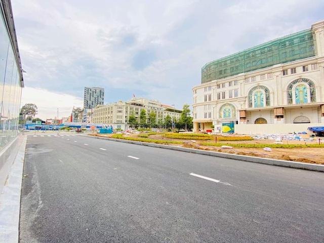 Khám phá bên trong ga ngầm Nhà hát Thành phố của tuyến metro Bến Thành - Suối Tiên - Ảnh 2.