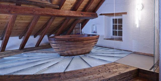 Phòng tắm sang trọng, hiện đại hơn với bồn oval đơn sắc - Ảnh 10.