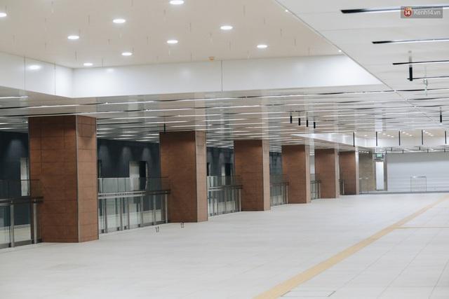 """Ga ngầm Metro đầu tiên được hoàn thành ở Sài Gòn: Ngỡ như """"thiên đường"""" dưới lòng đất, thiết kế theo kiến trúc của Nhà hát Thành phố - Ảnh 16."""
