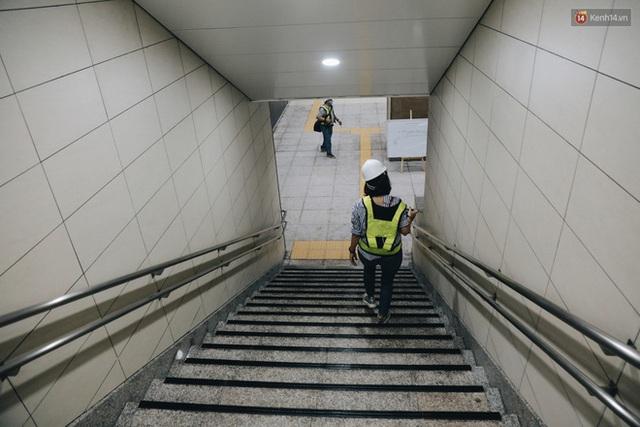"""Ga ngầm Metro đầu tiên được hoàn thành ở Sài Gòn: Ngỡ như """"thiên đường"""" dưới lòng đất, thiết kế theo kiến trúc của Nhà hát Thành phố - Ảnh 6."""