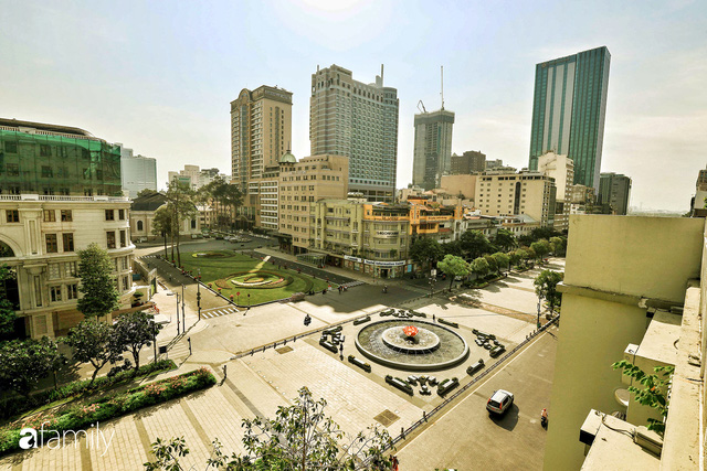 Người Sài Gòn choáng ngợp trước khung cảnh đại lộ Lê Lợi - Nguyễn Huệ - Đồng Khởi đẹp như trong mơ sau khi gỡ rào chắn để xây ga ngầm Metro - Ảnh 14.