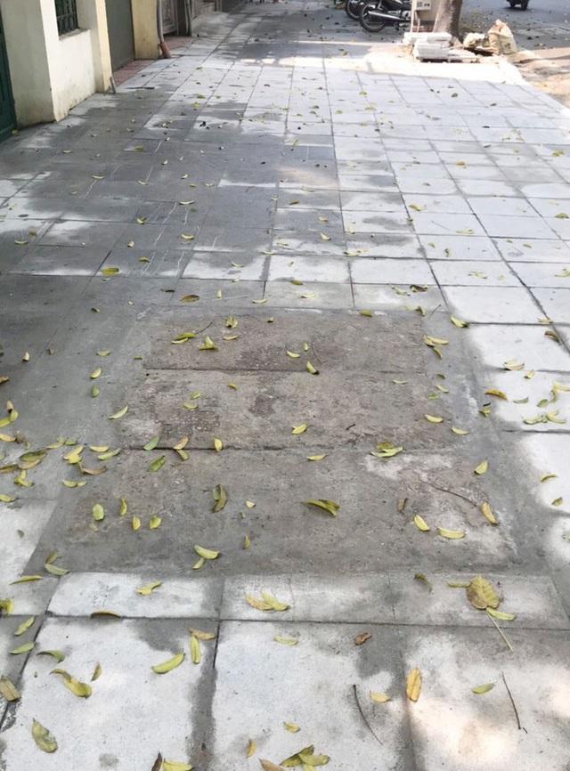Cận cảnh vỉa hè mới trên những tuyến phố trung tâm của Thủ đô - Ảnh 10.
