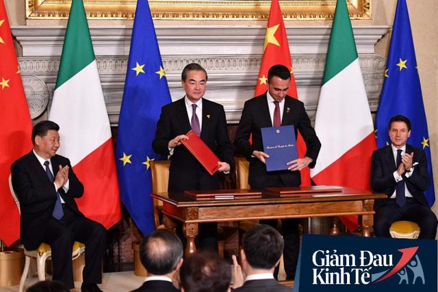 Italy đứng trước nguy cơ hứng chịu cuộc suy thoái sâu nhất trong lịch sử do COVID-19: Cơ hội béo bở cho TQ? - Ảnh 1.