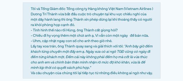 Tổng giám đốc Vietnam Airlines: Đếm từng hành khách và những việc chưa có tiền lệ trong mùa Covid-19 - Ảnh 1.