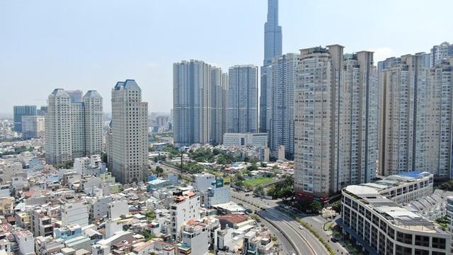 Con đường dài hơn 3km gánh cả rừng chung cư ở Sài Gòn - Ảnh 3.  Con đường dài hơn 3km gánh cả 'rừng chung cư' ở Sài Gòn photo 2 15882100072981614311476