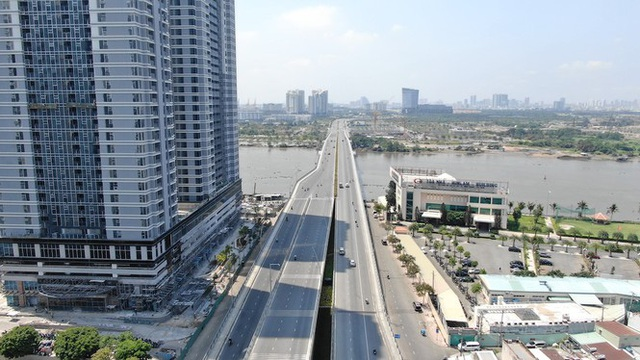 Con đường dài hơn 3km gánh cả rừng chung cư ở Sài Gòn - Ảnh 22.  Con đường dài hơn 3km gánh cả 'rừng chung cư' ở Sài Gòn photo 21 158821000732719905626