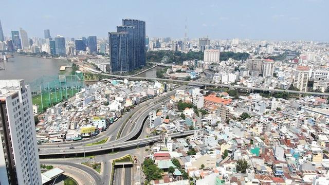 Con đường dài hơn 3km gánh cả rừng chung cư ở Sài Gòn - Ảnh 23.  Con đường dài hơn 3km gánh cả 'rừng chung cư' ở Sài Gòn photo 22 15882100073291486722547