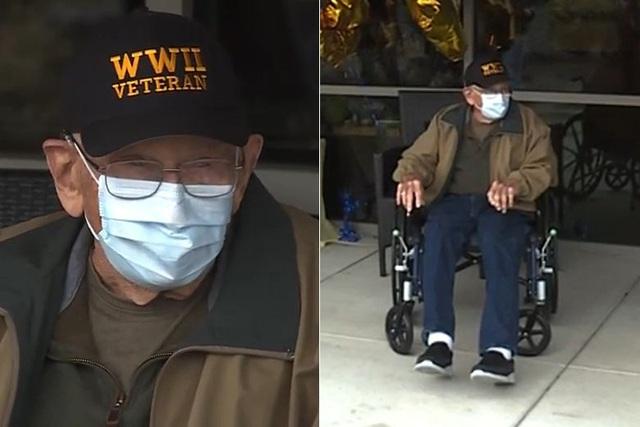 Mỹ: Cụ ông 104 tuổi là người cao tuổi nhất thế giới hồi phục ngoạn mục sau khi nhiễm Covid-19 - Ảnh 1.