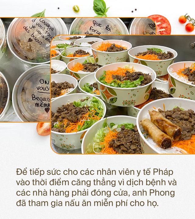 Đầu bếp người Việt nấu bún bò tiếp sức cho y bác sĩ Pháp chống dịch Covid-19: Một hành động tốt sẽ tạo ra những việc tốt khác - Ảnh 1.