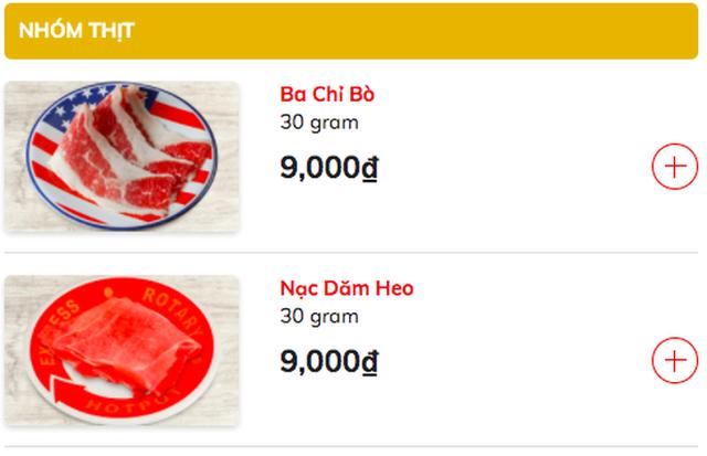 Đóng cửa giữa mùa dịch, chuỗi lẩu Kichi Kichi tìm cách bán buffet online về tận nhà khách: Chia nhỏ thức ăn bán theo từng phần, nước lẩu chỉ 29 ngàn, bò Mỹ 9 ngàn, rau nấm 6 ngàn... - Ảnh 3.