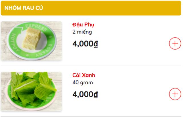 Đóng cửa giữa mùa dịch, chuỗi lẩu Kichi Kichi tìm cách bán buffet online về tận nhà khách: Chia nhỏ thức ăn bán theo từng phần, nước lẩu chỉ 29 ngàn, bò Mỹ 9 ngàn, rau nấm 6 ngàn... - Ảnh 4.