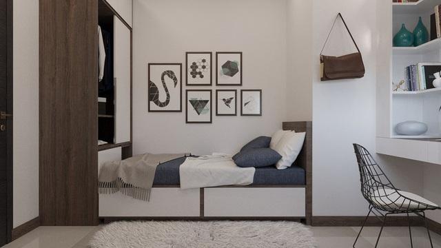 Căn hộ 2 phòng ngủ cực kỳ gọn gàng và tiện nghi - Ảnh 6.