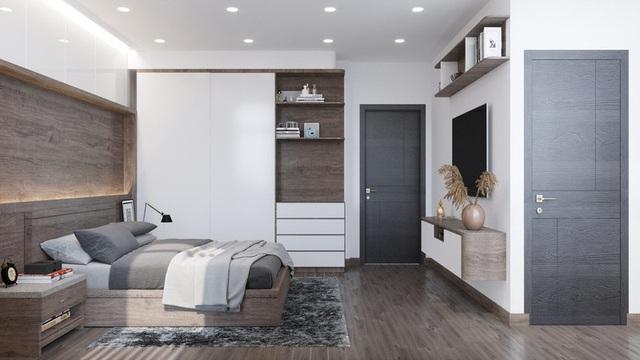 Căn hộ 2 phòng ngủ cực kỳ gọn gàng và tiện nghi - Ảnh 9.