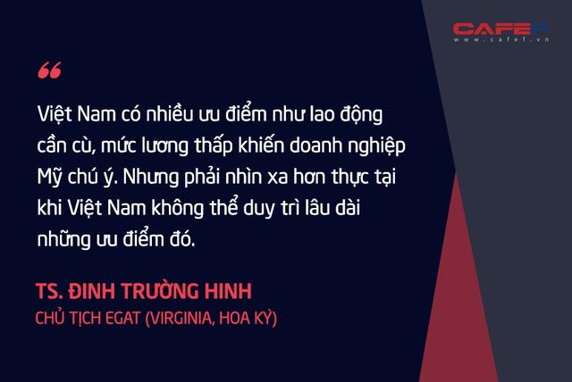 Chuyên gia kinh tế người Việt tại Mỹ: Nếu thành công, tối thiểu 3 – 5 năm các nước mới mang được phần lớn các chuỗi cung ứng rời khỏi Trung Quốc! - Ảnh 5.