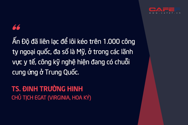 Chuyên gia kinh tế người Việt tại Mỹ: Nếu thành công, tối thiểu 3 – 5 năm các nước mới mang được phần lớn các chuỗi cung ứng rời khỏi Trung Quốc! - Ảnh 7.