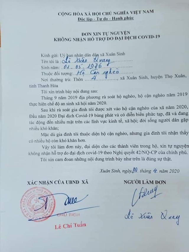 Lý do hàng ngàn người dân Thanh Hóa không nhận hỗ trợ từ gói 62.000 tỷ - Ảnh 1.