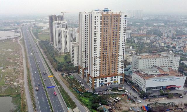 Cận cảnh khu chung cư bị đề nghị thanh tra vì làm mất đường đi ở Hà Nội - Ảnh 9.