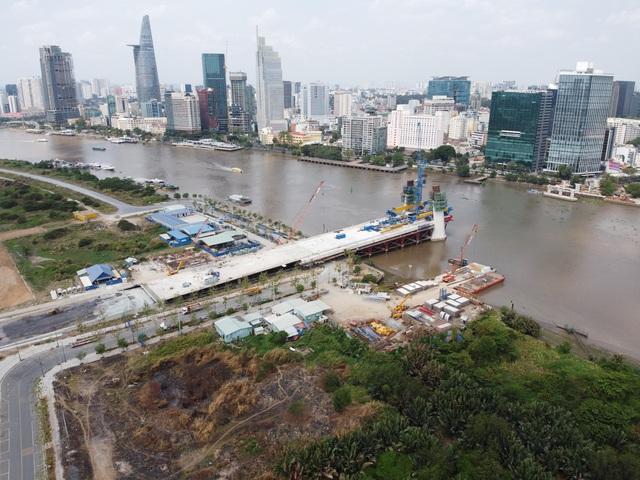 Cây cầu vượt sông Sài Gòn vốn 4.260 tỷ đồng - biểu tượng mới của TP HCM - Ảnh 1.