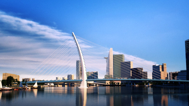 Cây cầu vượt sông Sài Gòn vốn 4.260 tỷ đồng - biểu tượng mới của TP HCM - Ảnh 10.