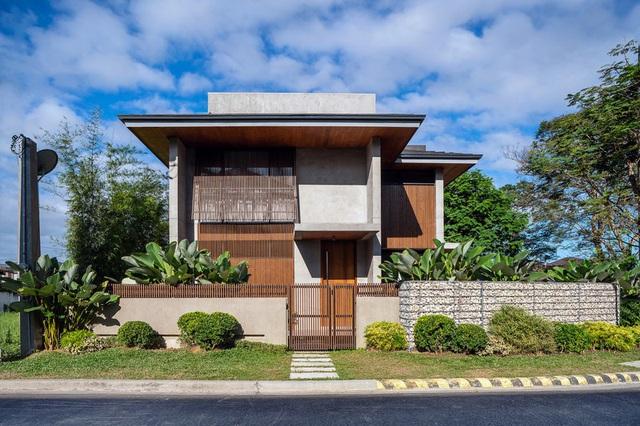 Ấn tượng thiết kế của ngôi nhà làm bằng gỗ và bê tông - Ảnh 1.