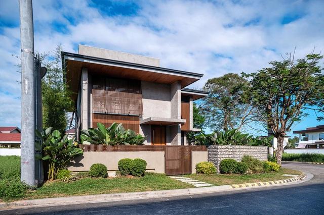 Ấn tượng thiết kế của ngôi nhà làm bằng gỗ và bê tông - Ảnh 2.