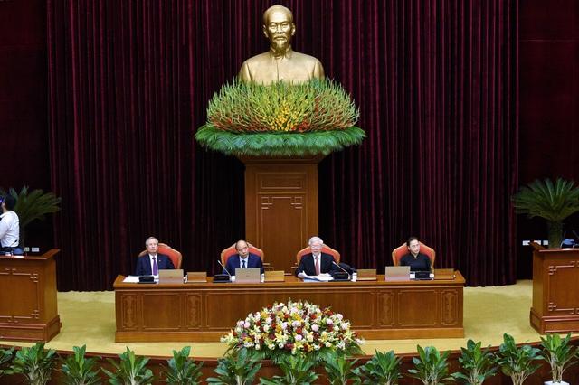Bế mạc Hội nghị Trung ương 12 - Ảnh 1.