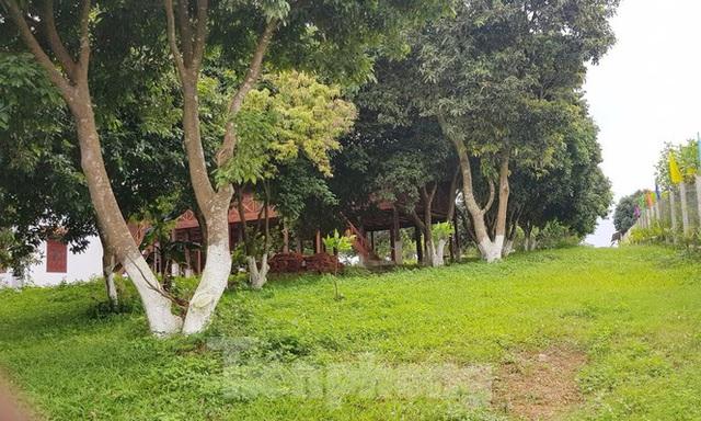 Cận cảnh biệt thự, nhà vườn trái phép mọc trên đồi ở Ba Vì - Ảnh 12.