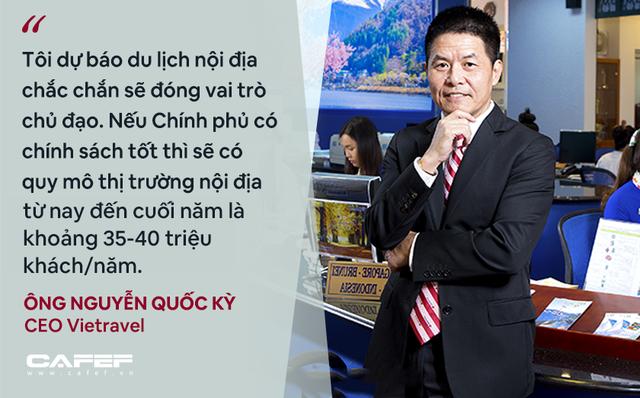 CEO Vietravel: Bình thường mới của ngành du lịch Việt Nam là không có khách hoặc rất ít khách nên cần kích cầu mạnh! - Ảnh 8.