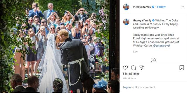 Vợ chồng Meghan Markle bị Nữ hoàng Anh đối xử lạnh nhạt ngay trong dịp kỷ niệm 2 năm ngày cưới - Ảnh 1.
