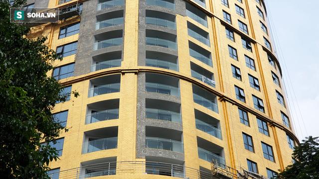 Ngắm tòa nhà dát vàng 24K từ chân đến nóc khủng nhất Hà Nội đang hoàn thiện - Ảnh 6.