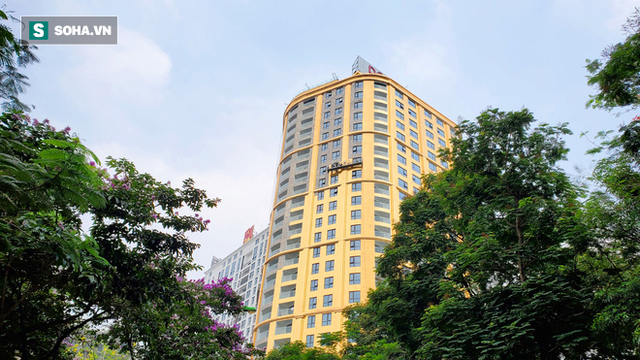 Ngắm tòa nhà dát vàng 24K từ chân đến nóc khủng nhất Hà Nội đang hoàn thiện - Ảnh 8.